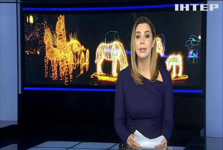 До новорічних свят українцям покажуть дивовижні світлові скульптури