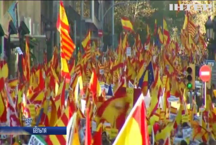 В Брюсселі пройшов марш за незалежність Каталонії