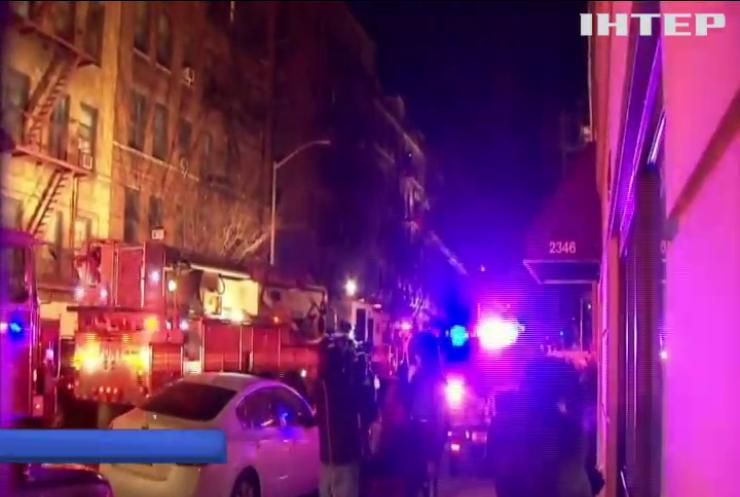 Пожежа у Нью-Йорку забрала життя 12 людей
