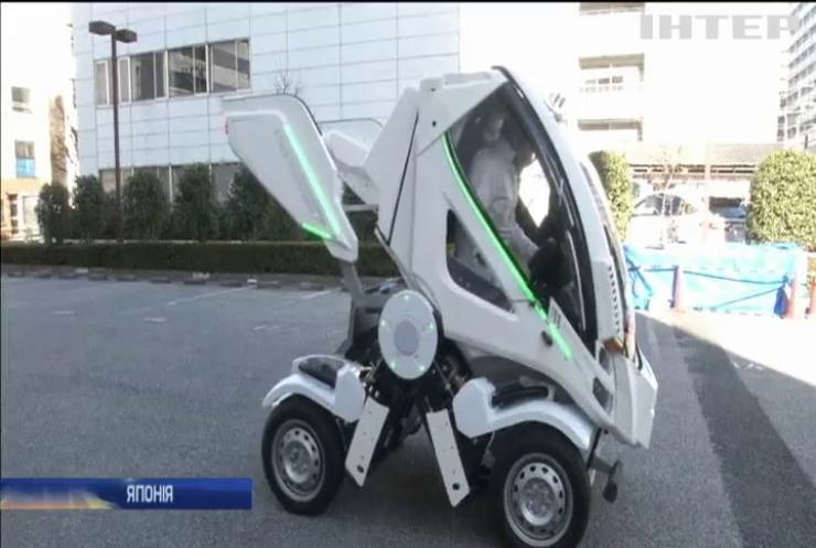 Японці сконструювали машину-трансформер