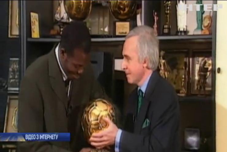 У Ліберії легендарний футболіст став президентом