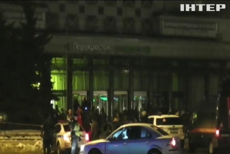 В Санкт-Петербурге задержали подозреваемого во взрыве в супермаркете