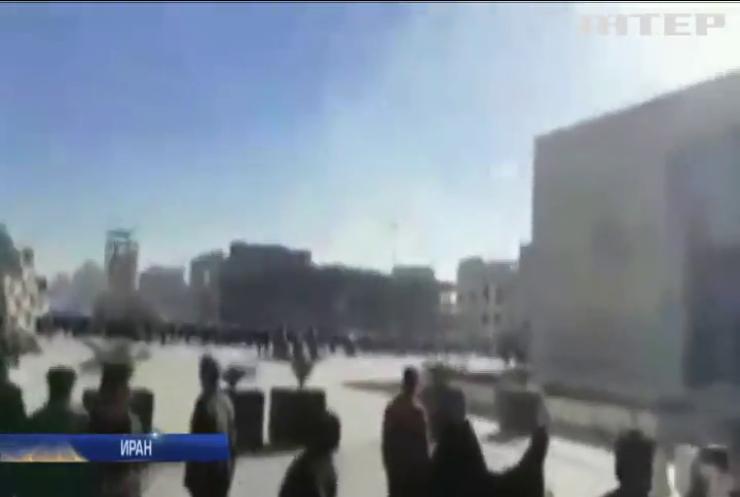 В Иране во время демонстраций погибли 12 человек