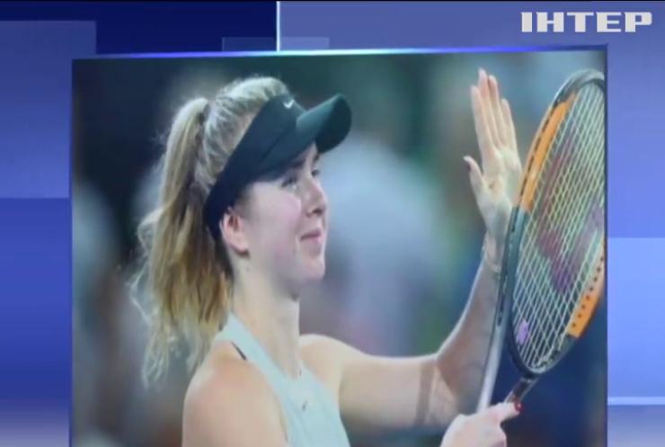Элина Свитолина выиграла теннисный турнир в Брисбене