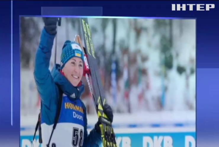 Биатлон: Вита Семеренко завоевала бронзовую медаль на Кубке мира