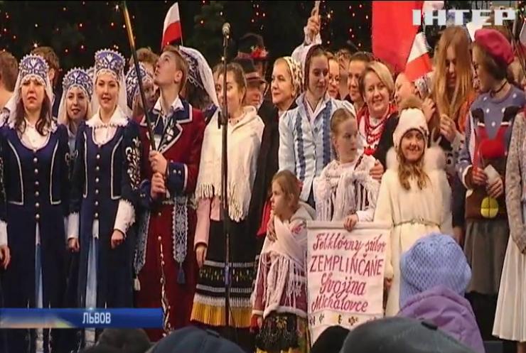 Во Львове провели международный Рождественский фестиваль
