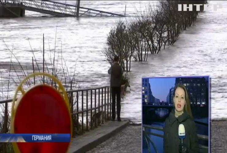 Аномальное потепление вызвало масштабные паводки в Германии