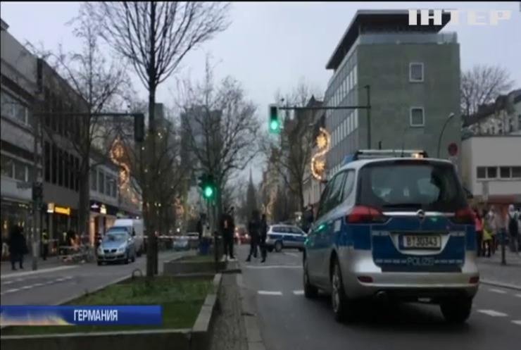 В банке Берлина обнаружили подозрительный пакет