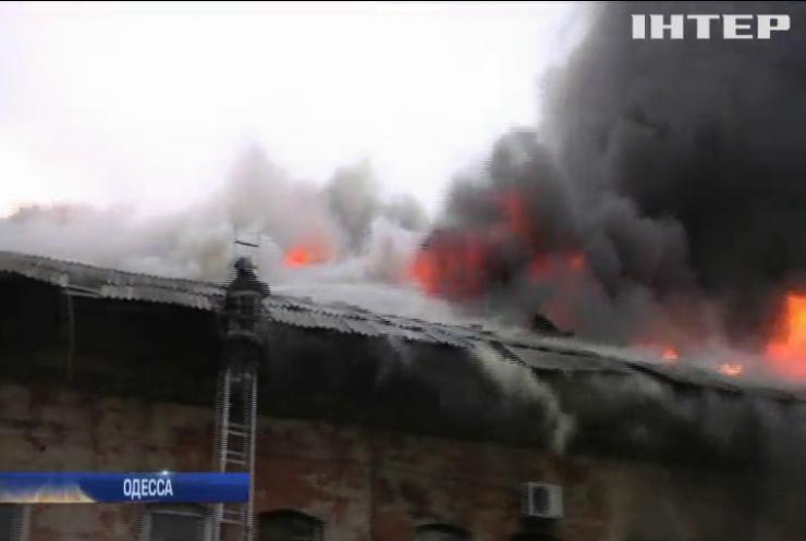 В Одессе на железнодорожной станции сгорел человек