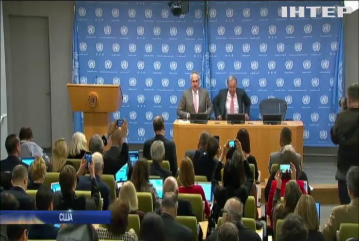 В ООН вважають пріоритетом вирішення конфлікту на Донбасі
