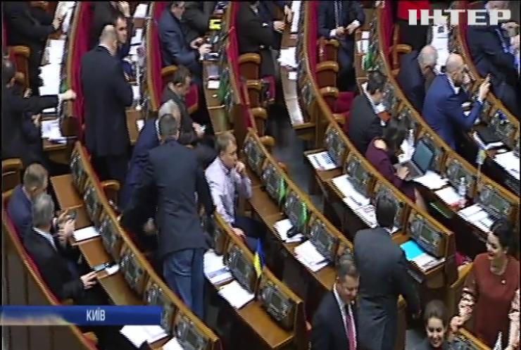Верховна Рада другий день не може проголосувати за законопроект про деокупацію