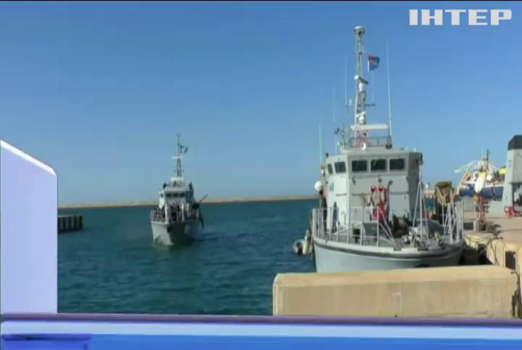Біля берегів Лівії з човнів врятували 1400 мігрантів
