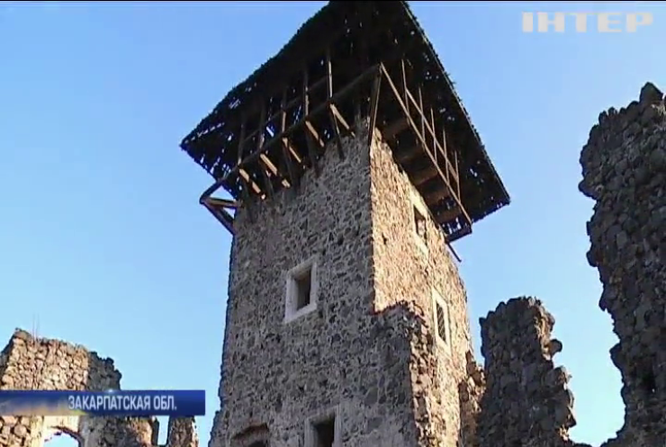 На Закарпатье волонтеры восстанавливают древний замок