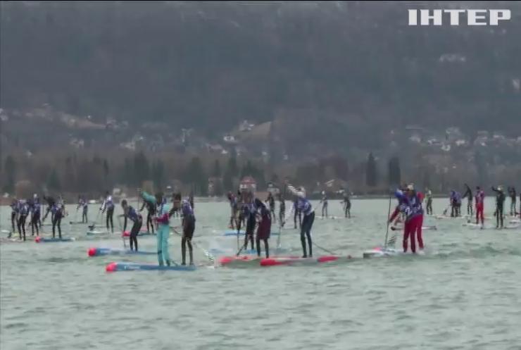 У Франції провели чемпіонат з перегонів на дошках для серфінгу