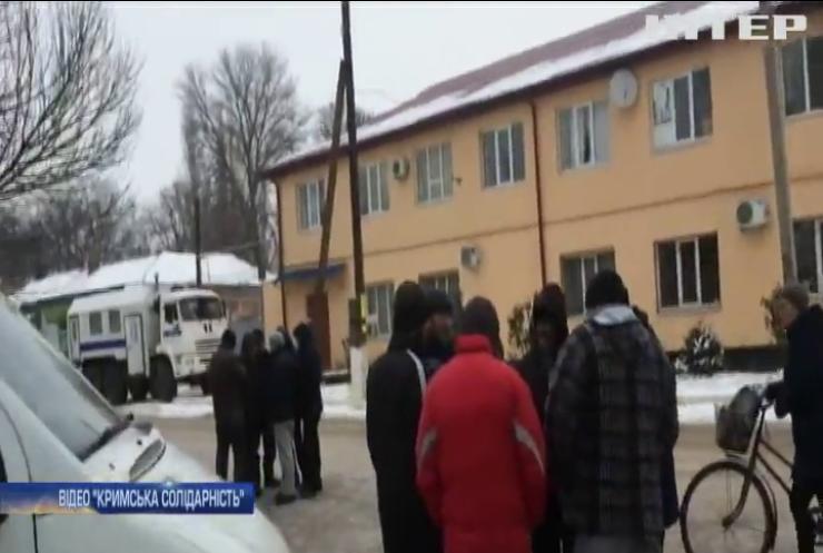 У Криму силовики затримали активістів кримських татар