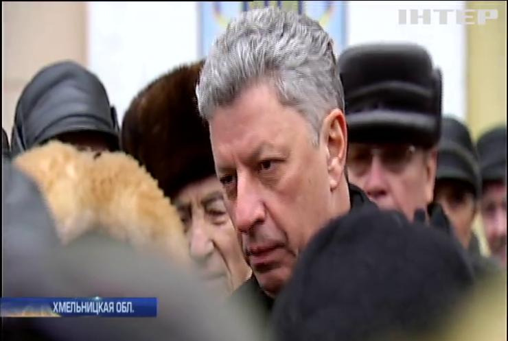 В Хмельницкой области военные пенсионеры требуют справедливого пересчета пенсий - Бойко