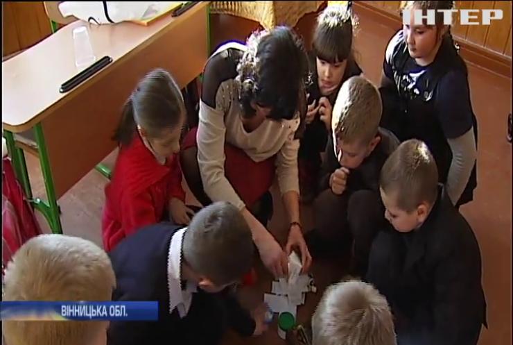 Школярі Вінничини заробляють на смітті (відео)