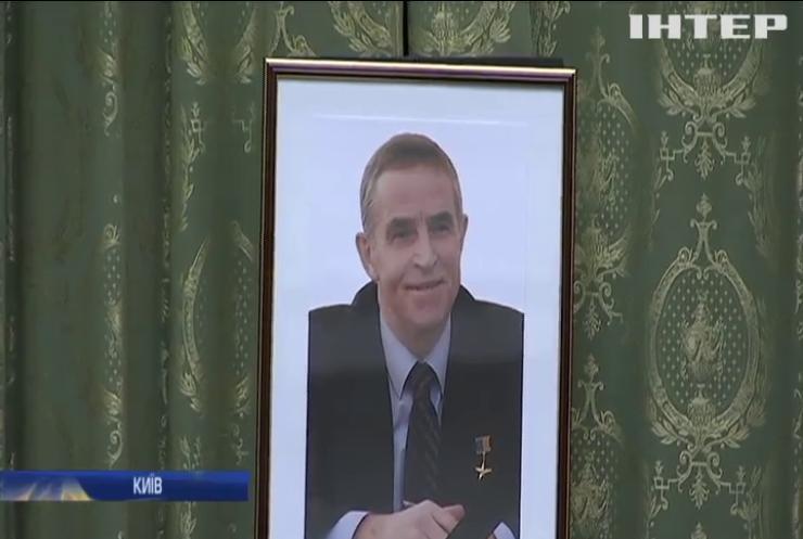В Києві на честь Леоніда Каденюка назвуть вулицю