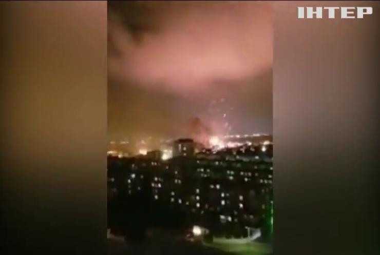 У Баку прогримів вибух на заводі