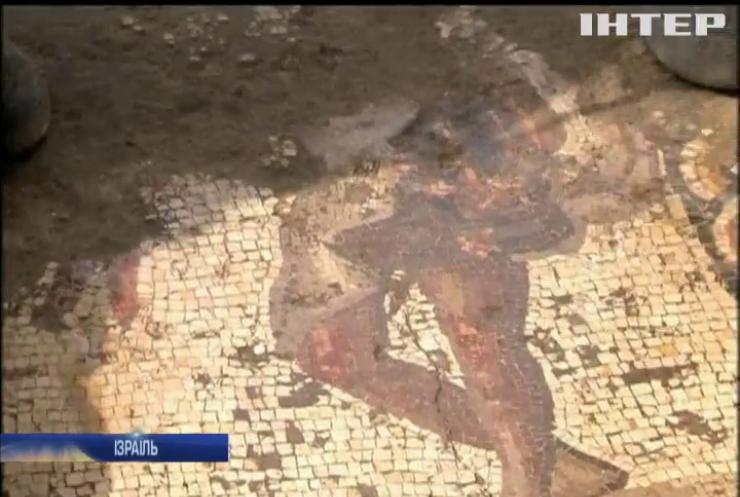 Унікальна знахідка: в Ізраїлі археологи відкопали візантійську мозаїку (відео)
