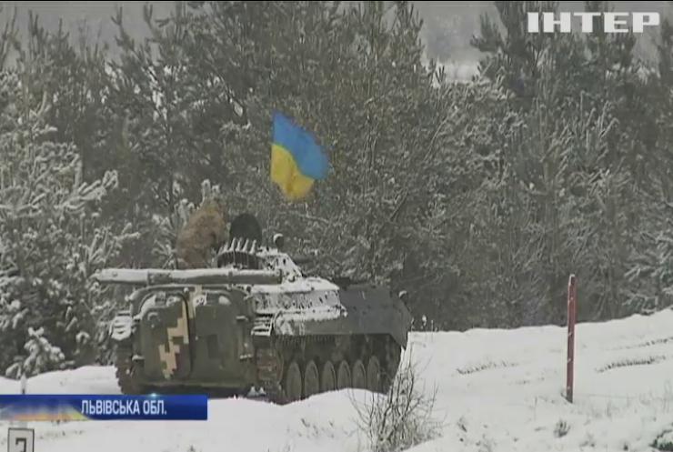 """На Яворівському полігоні проходять військові навчання """"Україна - НАТО"""""""