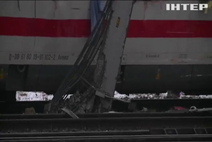 В Австрії зіткнулися два потяги
