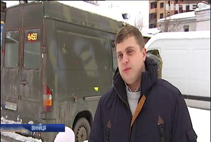 У Вінниці незрячий волонтер організував ремонт техніки з передової