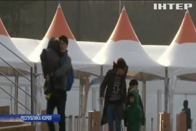 На олимпийский городок Пхенчхан обрушился ураган