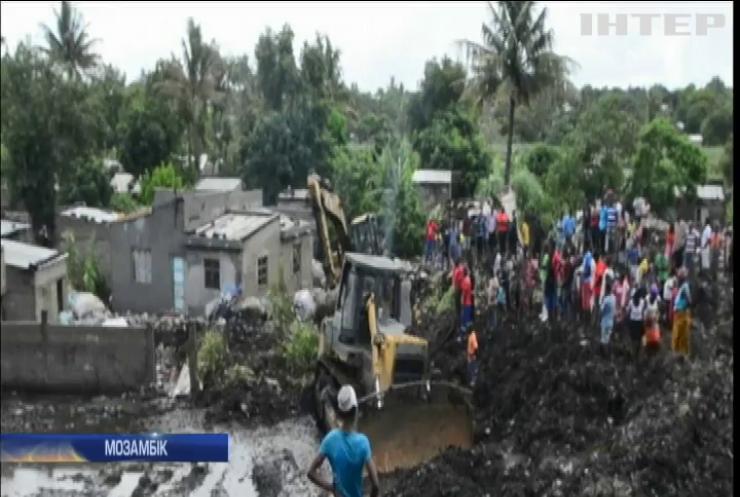 У Мозамбіку від обвалу сміття загинули люди