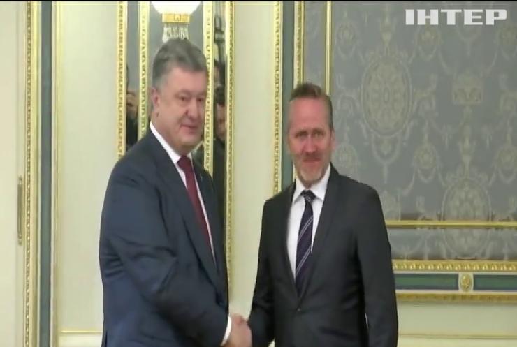 Порошенко обсудил с главой МИДа Дании выполнение Минских договоренностей