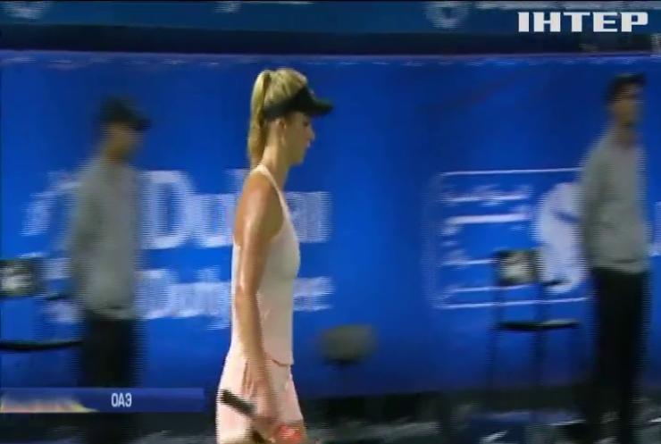 Теннисистка Элина Свитолина выиграла турнир в Дубае