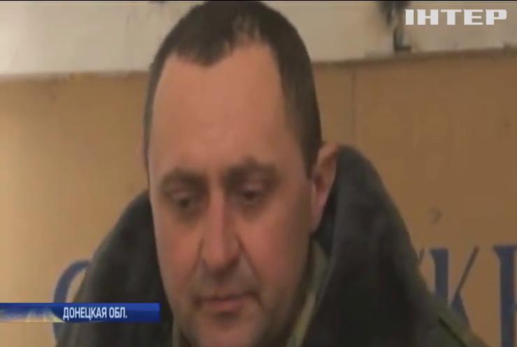 Война на Донбассе: в районе Горловки армейцы взяли в плен боевика
