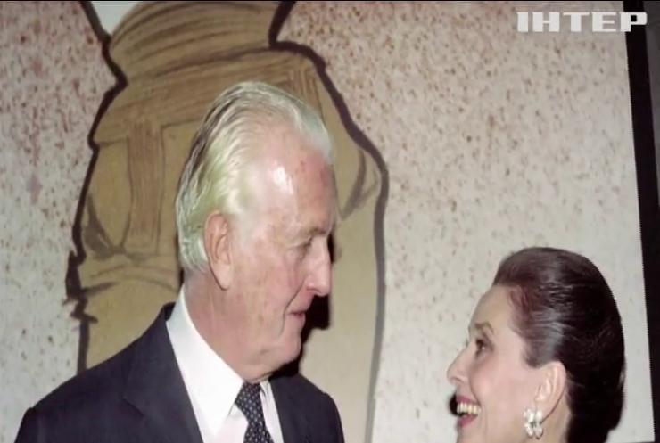У Франції на 91 році пішов із життя відомий дизайнер Юбер Живанші