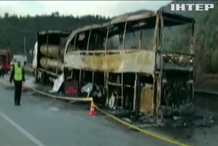 У Туреччині автобус з пасажирами протаранив вантажівку (відео)