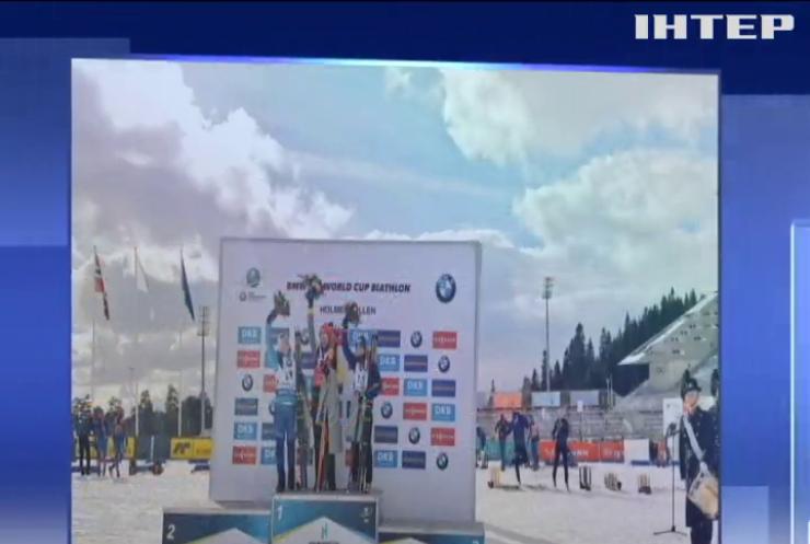 Украинская биатлонистка завоевала бронзу на Кубке мира