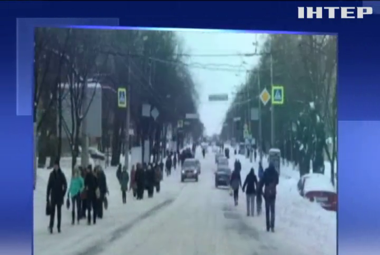 В п'яти містах України  оголосили штормове попередження