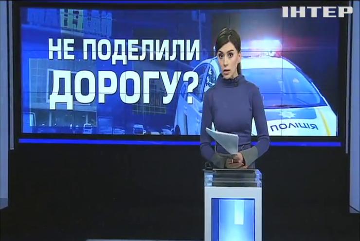 """Померялись стволами: киевские водители """"делили дорогу"""" с оружием в руках"""