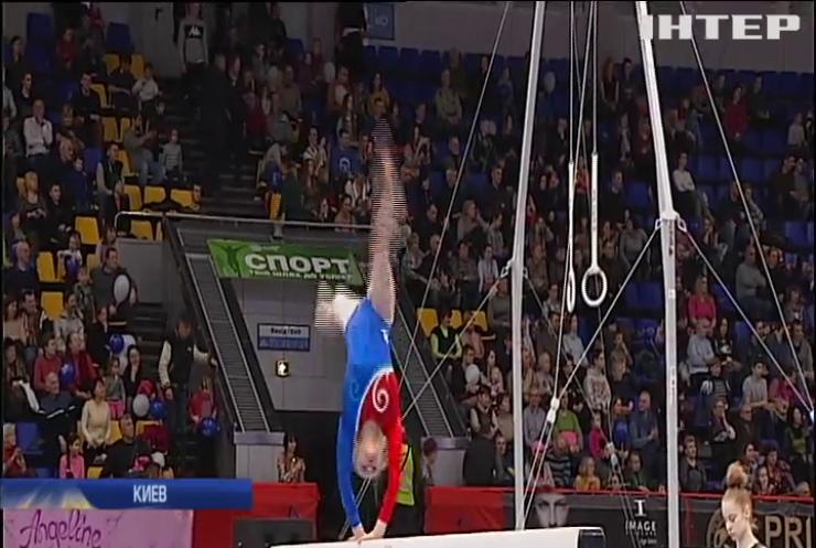 В Киеве прошел турнир по спортивной гимнастике на деньги меценатов