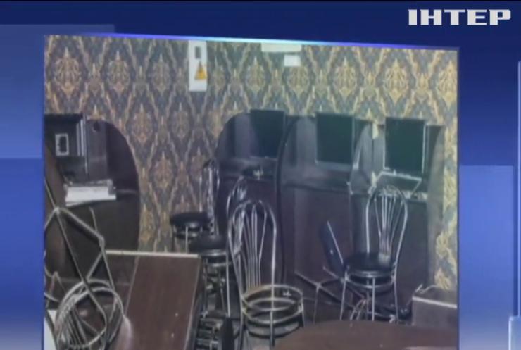 В Киеве вооруженные налетчики за одну ночь ограбили несколько игорных заведений