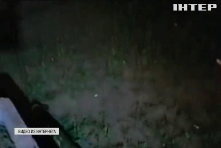 В центре Киева офис расстреляли из гранатомета