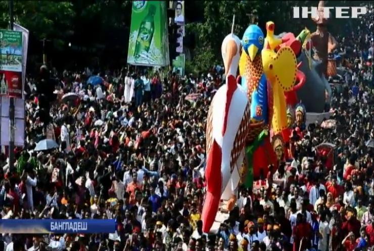 Бангладеш з розмахом зустрічає Новий рік