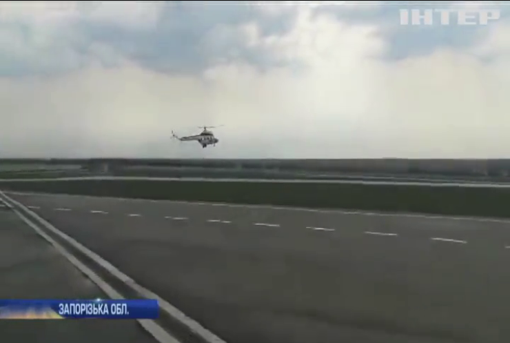 У Запоріжжі пройшло випробування першого українського гелікоптера
