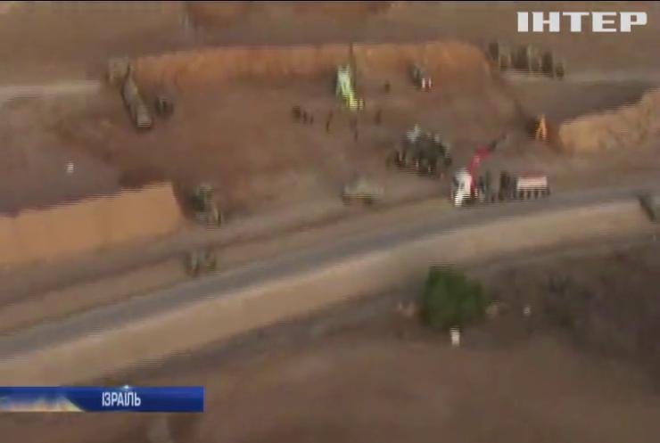 У Сектору Гази зруйновано найдовший тунель