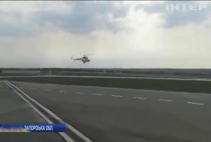 У Запоріжжі запустили перший український вертоліт