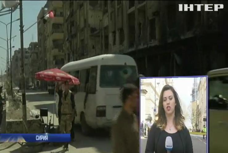 Война в Сирии: международные эксперты получат доступ к месту вероятной химической атаки
