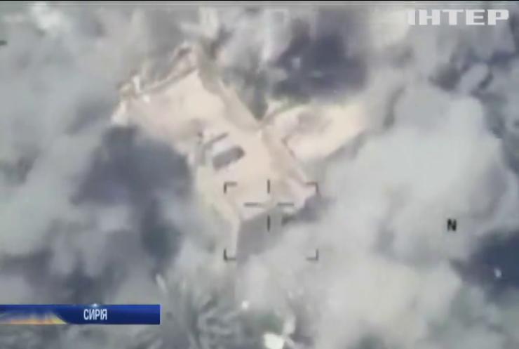 ВПС Іраку знищили позицію ІДІЛ у Сирії (відео)