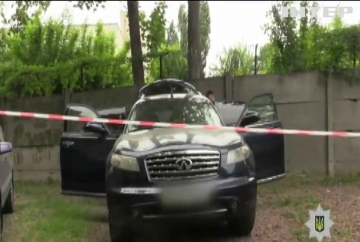 В Киеве расстреляли машину бизнесмена