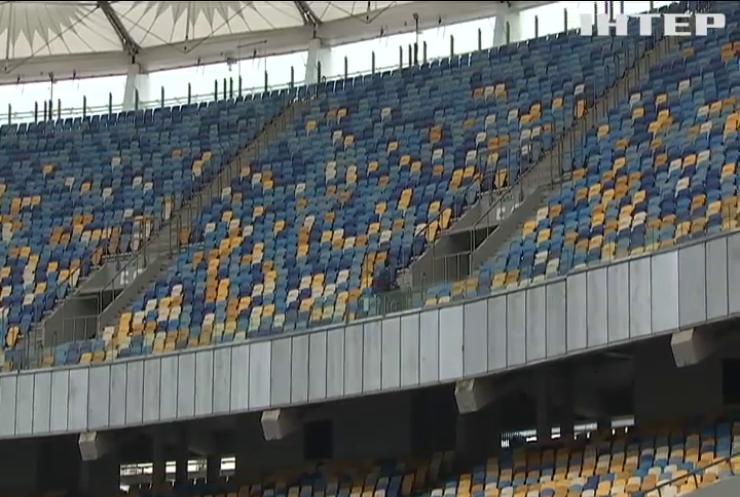 Финал Лиги чемпионов: в Киеве обустраивают фан-зону