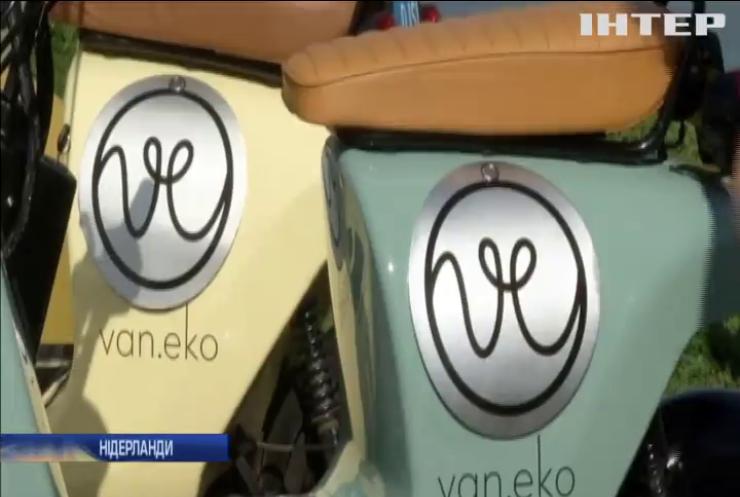 Винахідник із Нідерландів виготовляє скутери із конопель (відео)