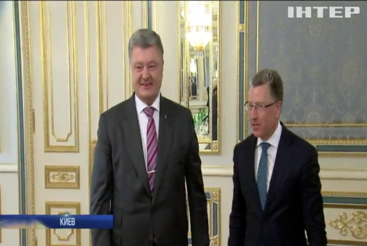 Порошенко и Волкер обсудили миротворческую миссию на Донбассе